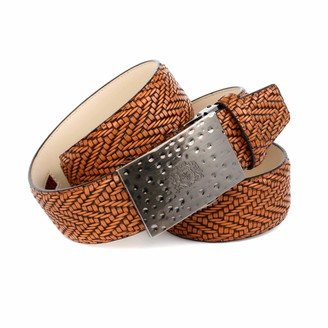 Anthoni Crown Men's Ledergurtel Belt
