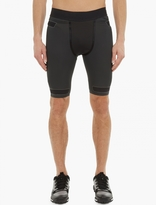 Y-3 Sport Charcoal Techfit Shorts