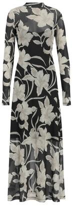 AllSaints Hanna Jardin Midi Dress