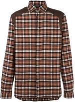Neil Barrett checked shirt
