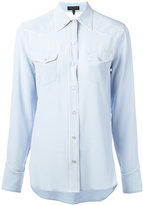 Rag & Bone piped trim shirt - women - Silk - S