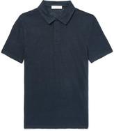 Sandro - Slim-fit Linen Polo Shirt