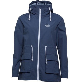 Animal Womens Byron Lightweight Jacket Grisaille Blue