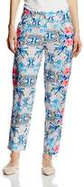 Wolfwhistle Wolf and Whistle Women's Geometric Floral Trouser