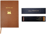 Sloane Stationery Bestseller Pocket Notebook & Clever Pencils