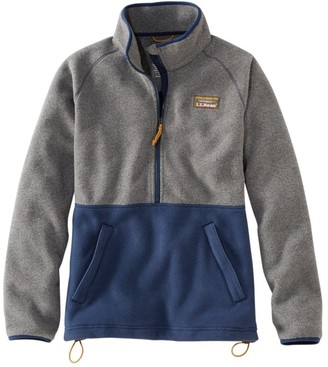 L.L. Bean Women's Mountain Classic Colorblock Fleece Pullover