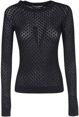 Dolce & Gabbana See-through Sweater