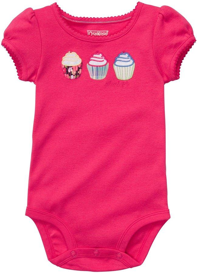 Osh Kosh Cupcakes Bodysuit