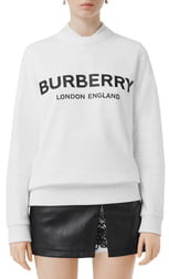 Burberry Fairhall Logo Print Sweatshirt