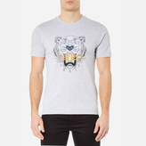 Kenzo Men's Printed Tiger TShirt - Pearl Grey