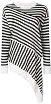 MM6 MAISON MARGIELA striped design blouse