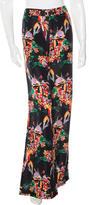 Derek Lam 10 Crosby Silk Floral Print Pants w/ Tags