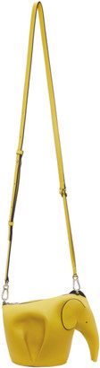 Loewe Yellow Elephant Messenger Bag