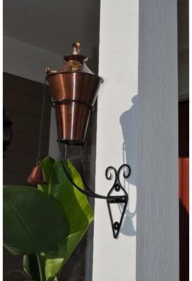 Starlite Garden and Patio Torche Co. Kona Bracket torch Starlite Garden and Patio Torche Co. Finish: Copper Burn