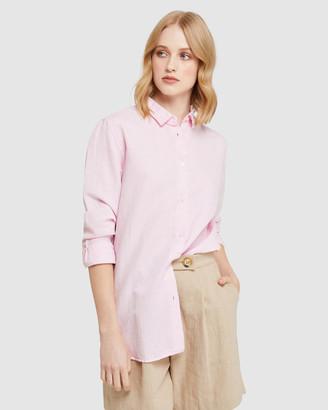 Oxford Eva Linen Cotton Shirt