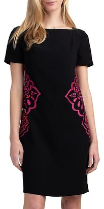 Trina Turk Claire Short-Sleeve Dress