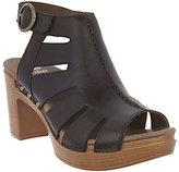 Dansko As Is Leather Cut-out Sandals - Demetra