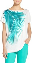 St. John Palms Print Jersey T-Shirt