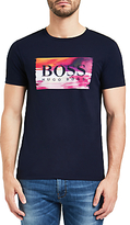 Hugo Boss Boss Orange Typical Digital T-shirt, Blue