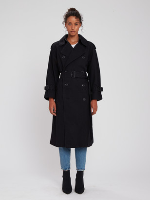 Moussy Trench Overcoat