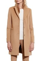 Lauren Ralph Lauren Wool Blend Reefer Coat (Regular & Petite)