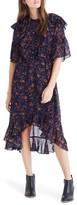 Madewell Women's Ruffle Midi Dress