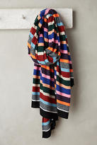 White + Warren Lite-Brite Striped Scarf