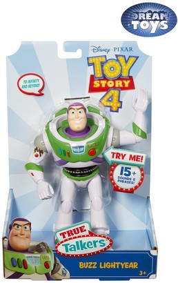 Toy Story True Talkers 7-Inch Buzz Lightyear Action Figure