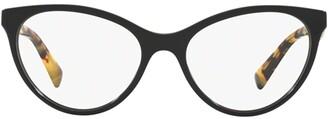 Valentino Eyewear Cat Eye Frame Glasses