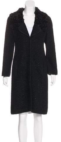 Andrew Gn Embellished Long Coat