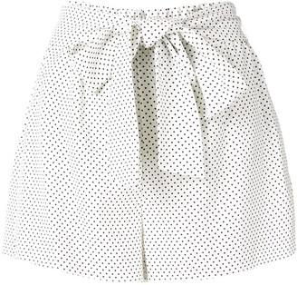 Alice + Olivia Polka Dot Print Shorts