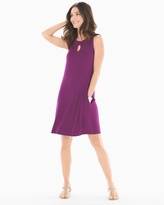 Soma Intimates Sleeveless Keyhole Detail Short Dress