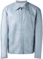 Jil Sander zipped reversible jacket - men - Polyester/Lamb Skin - 48