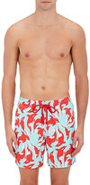 Vilebrequin Men's Orca Whale Tech-Twill Swim Trunks