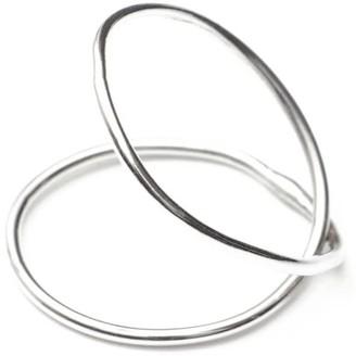 Skomer Studio All Day Sterling Silver Everlasting Pinky Ring