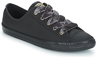 Converse DAINTY OX women's Shoes (Trainers) in Black