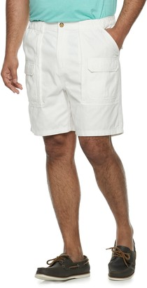 Croft & Barrow Big & Tall Twill Cargo Shorts