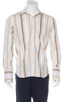 John Bartlett Striped French Cuff Shirt