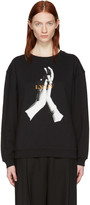 McQ by Alexander McQueen Black Hands Classic Pullover