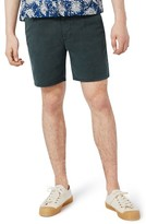 Topman Men's Slim Fit Pleated Shorts