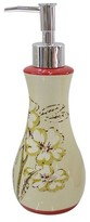 Waverly Honeymoon Lotion/Soap Dispenser Red/Cream