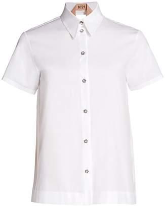 No.21 No. 21 Layered Open-Back Shirt