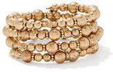 New York & Co. 5-Row Beaded Coil Bracelet