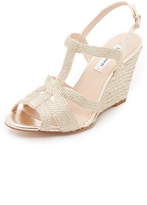 LK Bennett Ripley Rope Wedge Sandals