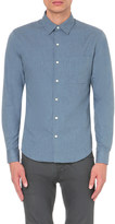 Sandro Slim-fit chambray shirt