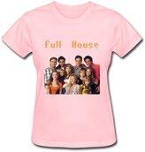 DALJ Tee Womens Online Brand New Full House Shirt Size M Color Black