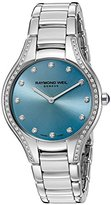 Raymond Weil Women's 'Noemia' Swiss Quartz Stainless Steel Dress Watch, Color:Silver-Toned (Model: 5132-STS-50081)
