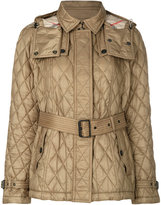Burberry quilted jacket - women - Polyamide/Polyester - S