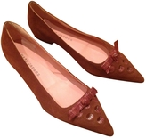 Marc Jacobs Brown Leather Ballet flats