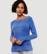 LOFT Lou & Grey Boucle Shirttail Sweater